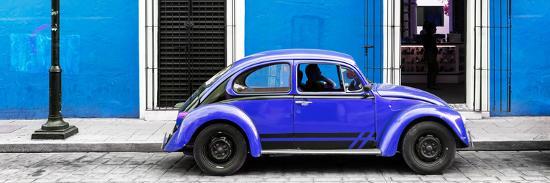 philippe-hugonnard-viva-mexico-panoramic-collection-vw-beetle-car-blue-purple