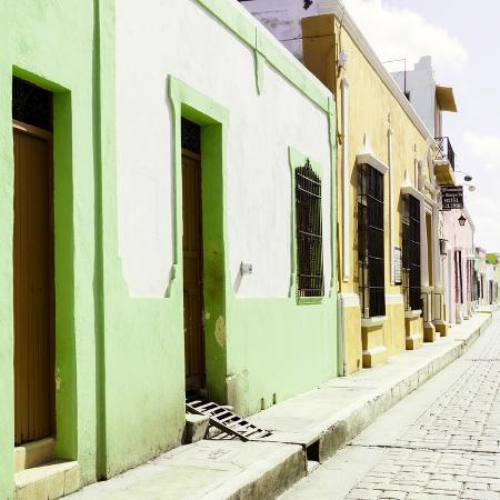 philippe-hugonnard-viva-mexico-square-collection-coloful-street-iii