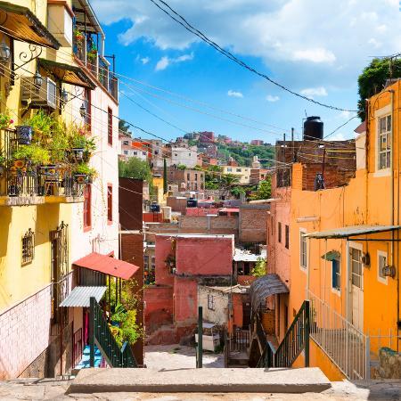 philippe-hugonnard-viva-mexico-square-collection-colorful-street-in-guanajuato