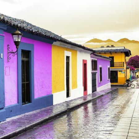 philippe-hugonnard-viva-mexico-square-collection-colorful-street-in-san-cristobal-iv