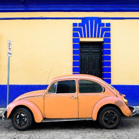 philippe-hugonnard-viva-mexico-square-collection-coral-vw-beetle-san-cristobal