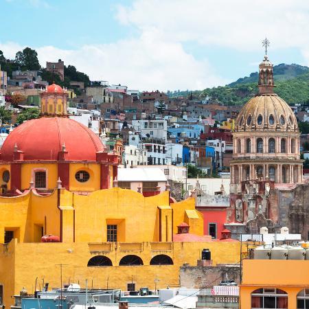 philippe-hugonnard-viva-mexico-square-collection-guanajuato-church-domes