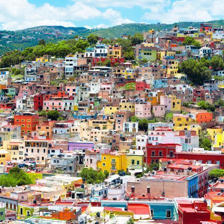 philippe-hugonnard-viva-mexico-square-collection-guanajuato-colorful-cityscape-xvi
