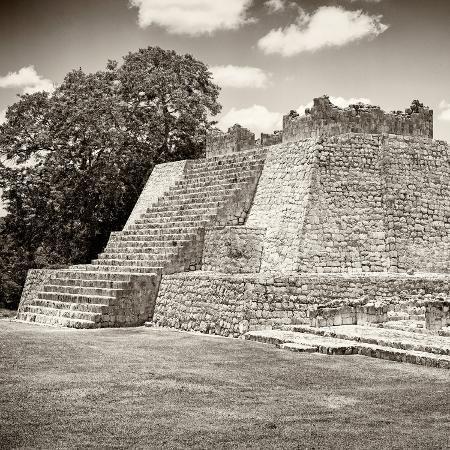 philippe-hugonnard-viva-mexico-square-collection-mayan-ruins-edzna-iii
