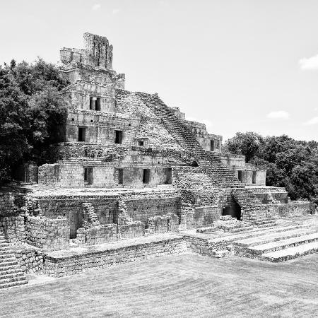 philippe-hugonnard-viva-mexico-square-collection-mayan-ruins-edzna-xi