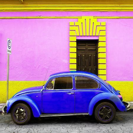 philippe-hugonnard-viva-mexico-square-collection-royal-blue-vw-beetle-san-cristobal