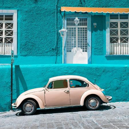 philippe-hugonnard-viva-mexico-square-collection-vw-beetle-car-and-turquoise-wall