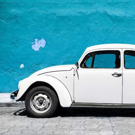 philippe-hugonnard-viva-mexico-square-collection-white-vw-beetle-car-blue-wall