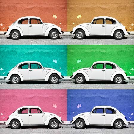philippe-hugonnard-viva-mexico-square-collection-white-vw-beetle-cars-color-walls