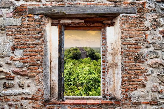 philippe-hugonnard-viva-mexico-window-view-ruins-of-the-ancient-mayan-city-of-calakmul