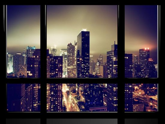 philippe-hugonnard-window-view-misty-view-times-square-and-the-new-yorker-hotel-views-manhattan-new-york