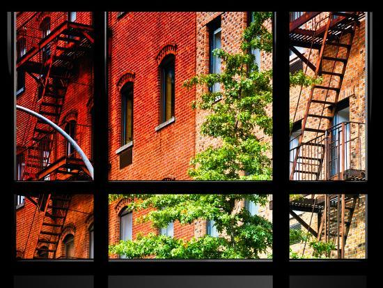 philippe-hugonnard-window-view-special-series-buildings-stairs-emergency-new-york-united-states