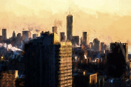 philippe-hugonnard-world-trade-sunset