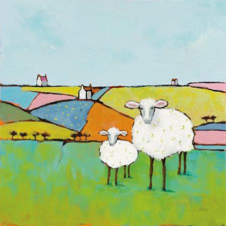 phyllis-adams-sheep-in-the-meadow