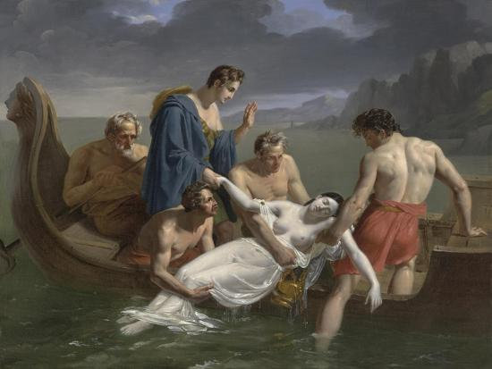 pierre-antoine-augustin-vafflard-the-death-of-sappho-1819