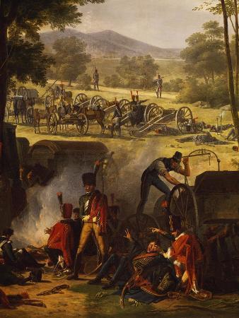 pierre-antoine-mongin-napoleon-s-encampment-at-castle-abersberg-may-4-1809