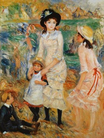 pierre-auguste-renoir-children-on-the-seashore-guernsey