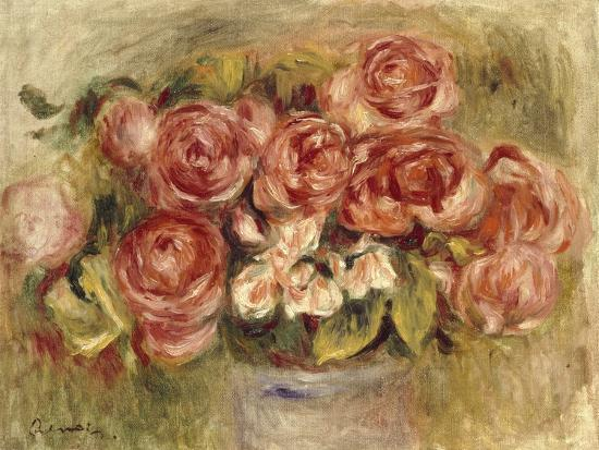 pierre-auguste-renoir-still-life-of-roses-in-a-vase-1880s-and-1890s