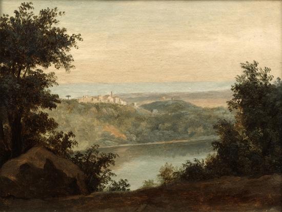 pierre-henri-de-valenciennes-lake-nemi-in-the-background-the-city-of-genzano-late-18th-early-19th-century