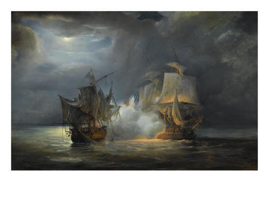 pierre-julien-gilbert-combat-naval-entre-la-fregate-la-venus-commandee-par-le-capitaine-hamelin-contre-la-fregate