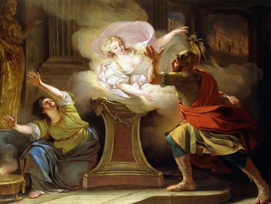 pierre-puvis-de-chavannes-aeneas-pursuing-helen-in-the-temple-of-vesta