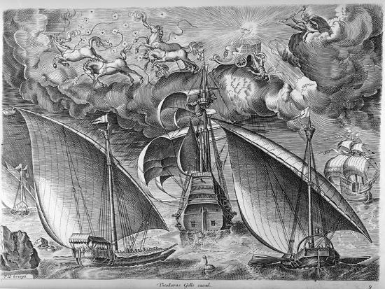 pieter-bruegel-the-elder-man-of-war-between-two-galleys-1565
