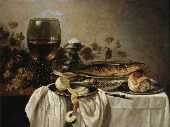 pieter-claesz-breakfast-1646