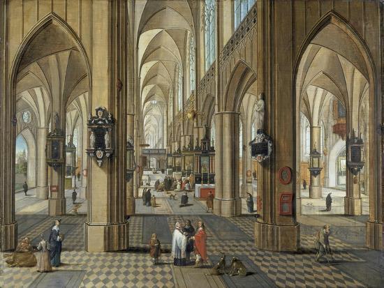 pieter-neeffs-the-elder-interior-of-antwerp-cathedral-flemish-17th-century
