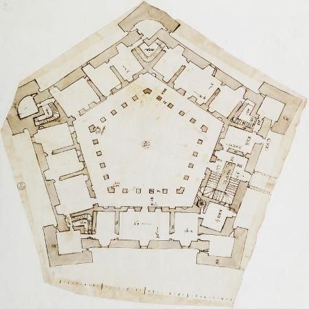 plan-of-villa-farnese-in-caprarola-near-viterbo-design-by-baldassarre-peruzzi