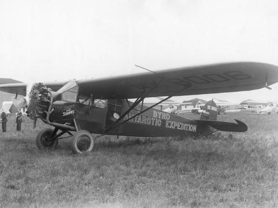 plane-marked-byrd-antarctic-expedition