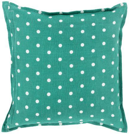 polka-dot-linen-pillow-poly-fill-kelly-green-sold-out