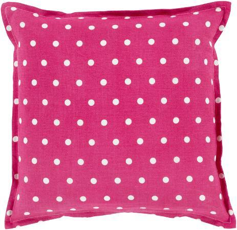 polka-dot-linen-pillow-poly-fill-magenta-sold-out