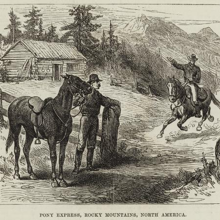 pony-express-rocky-mountains-north-america