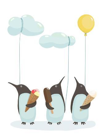 popmarleo-penguins-with-ice-cream-illustration-of-penguins-birds-with-ice-cream-vector-eps8