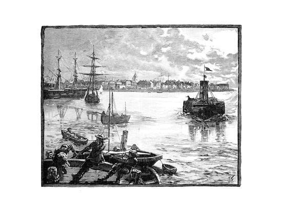 portmouth-harbour-hampshire-c1888