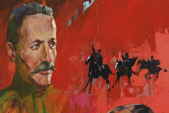 portrait-of-mikhail-aleksandrovich-sholokhov-kruzilin