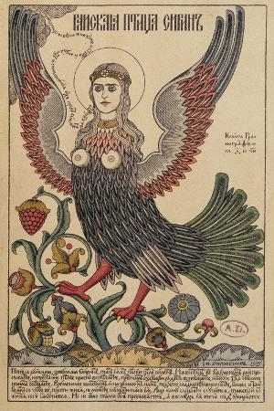 postcard-depicting-a-harpy-1905