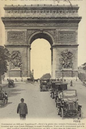 postcard-depicting-the-arc-de-triomphe-on-the-champs-elysees