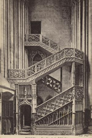 postcard-depicting-the-stairs-of-the-library