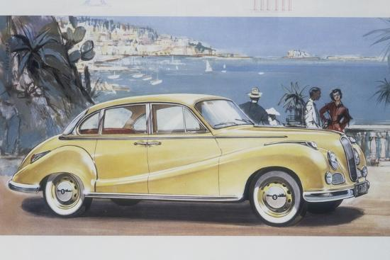 poster-advertising-a-bmw-502-car-1957