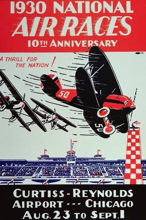 poster-for-the-national-air-races-at-the-curtiss-reynolds-airport-chicago-1930