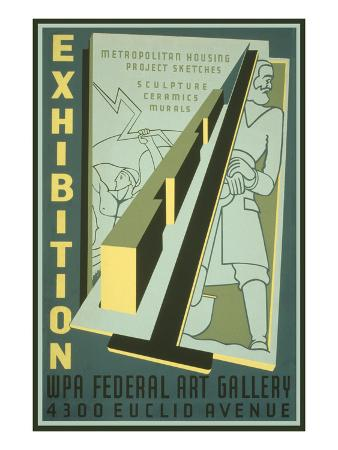 poster-for-wpa-art-exhibition