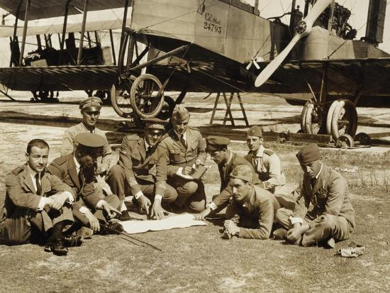 preparation-of-a-mission-with-the-biplane-bomber-caproni-ca3
