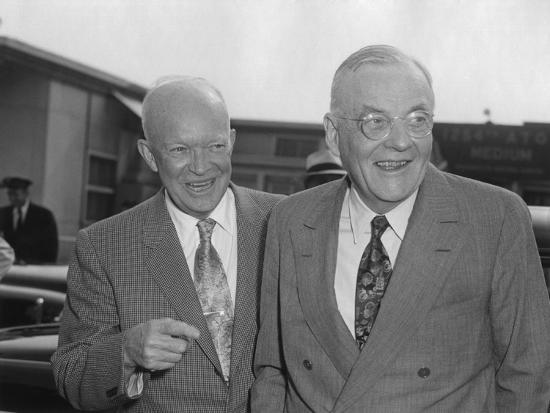 president-eisenhower-with-secretary-of-state-john-foster-dulles-at-washington-airport