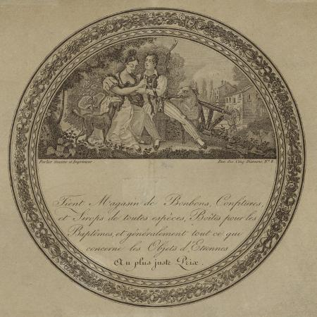 product-label-for-a-french-sweetshop