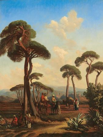 prosper-marilhat-arabs-and-camels-at-rest-1847