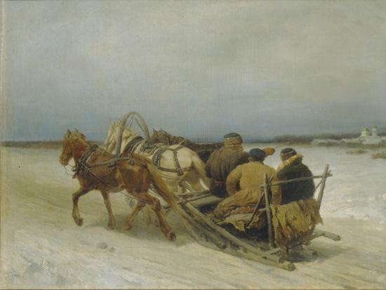 pyotr-petrovich-sokolov-troika-in-winter-1880s