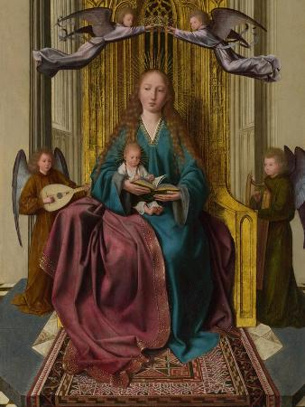 quentin-massys-the-virgin-and-child-enthroned-with-four-angels-c-1495
