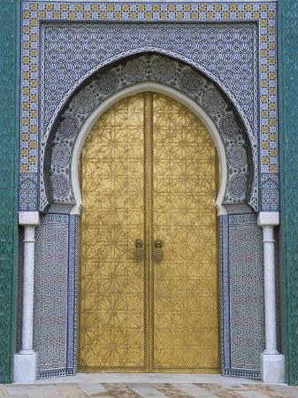 r-h-productions-ornate-doorway-the-royal-palace-fez-morocco-north-africa-africa