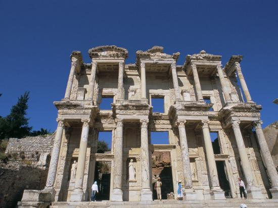 r-h-productions-reconstructed-library-ephesus-anatolia-turkey